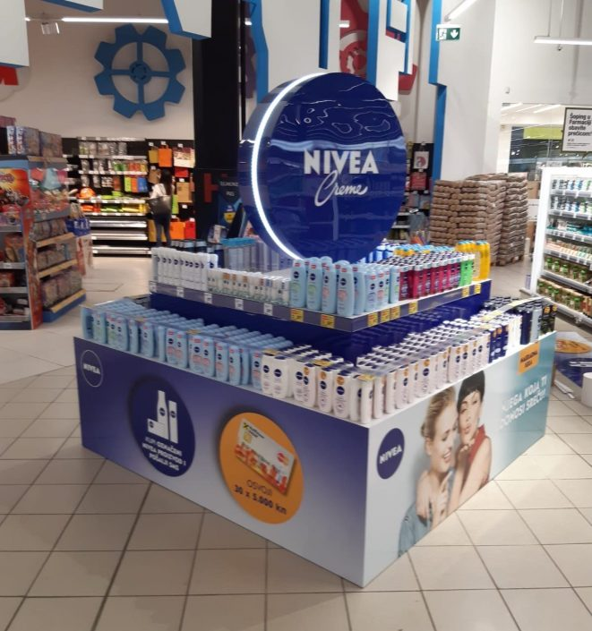 Nivea - POS in store elements