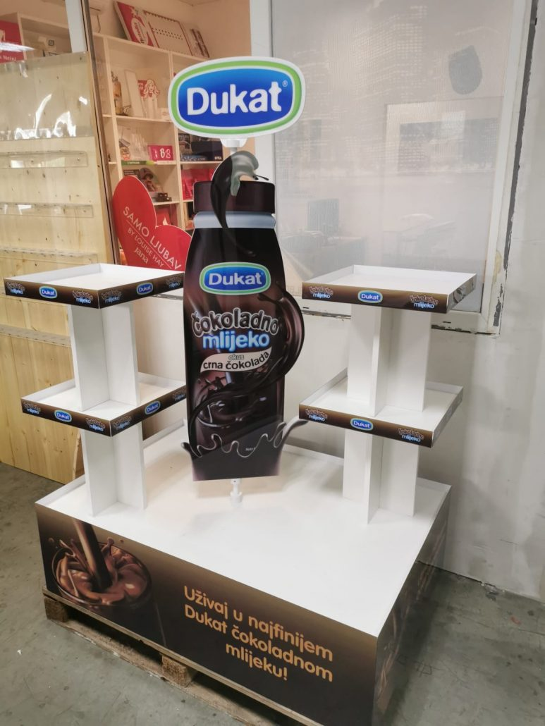 Dukat - in store stand