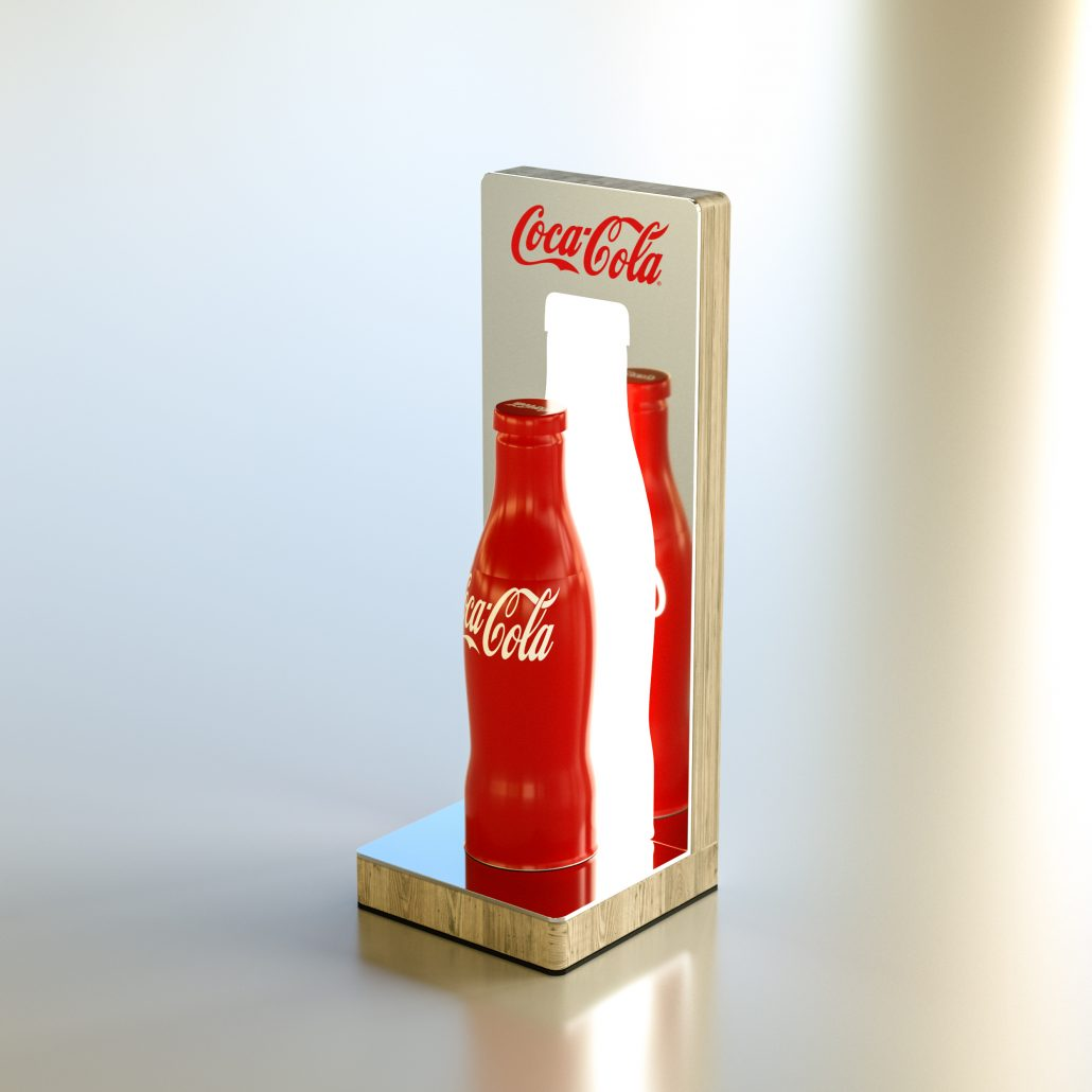 Coca Cola - menu holder