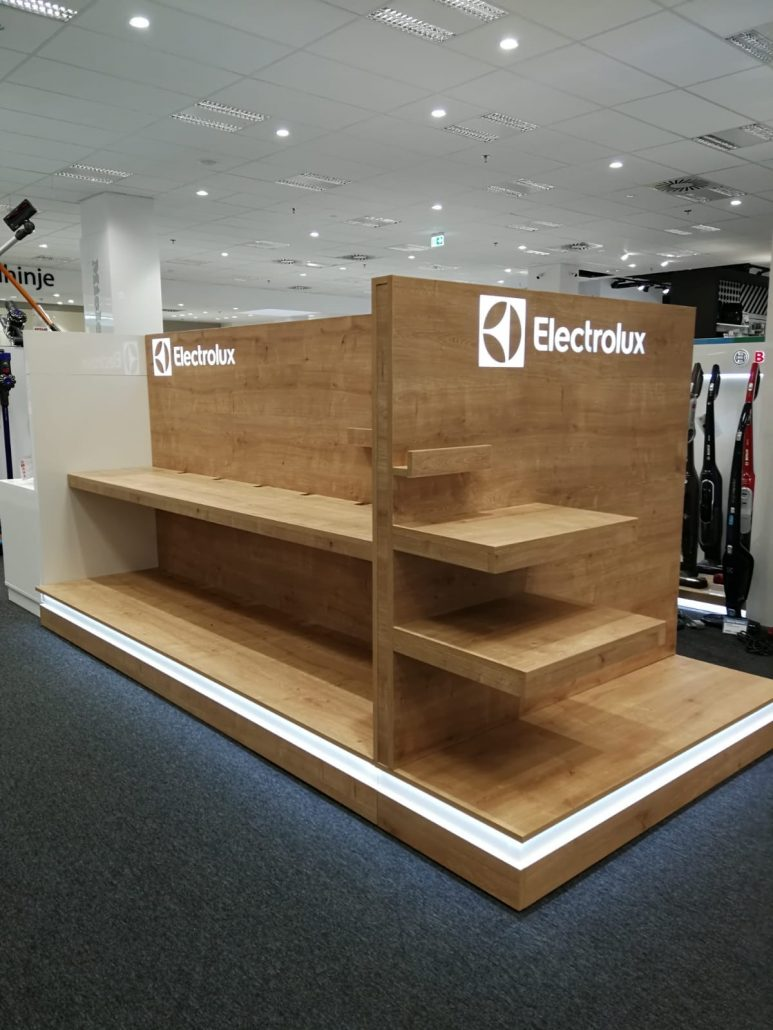 Electrolux - in store elements