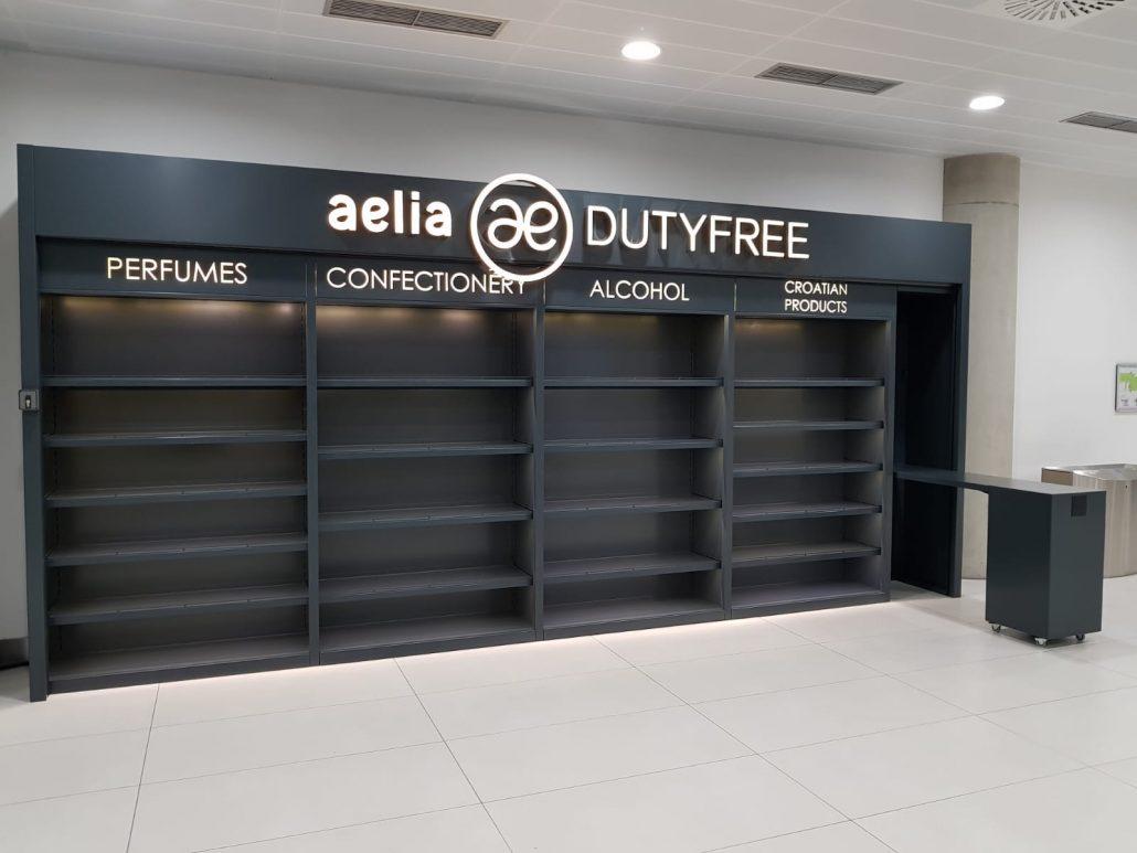 Aelia - duty free stand