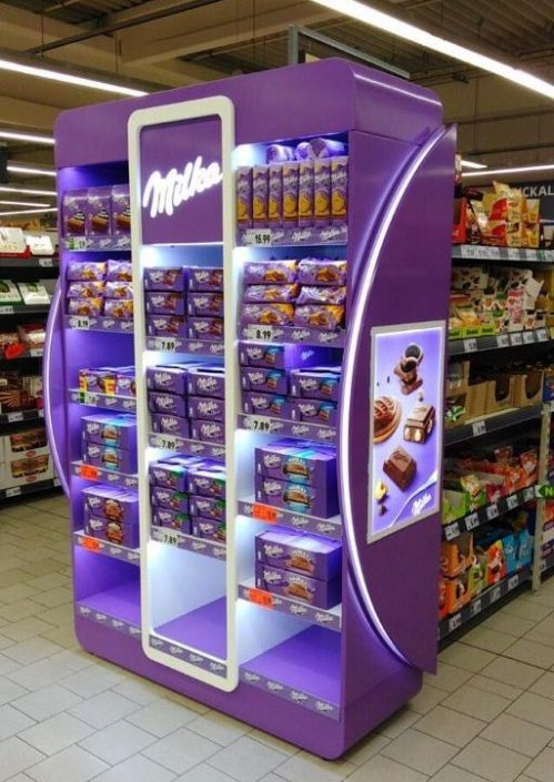 Milka - in store elelement