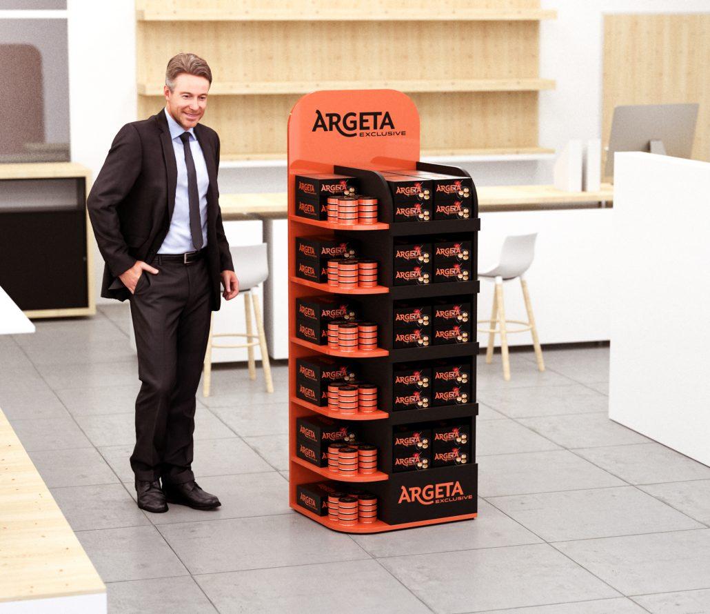 Argeta - POS stand