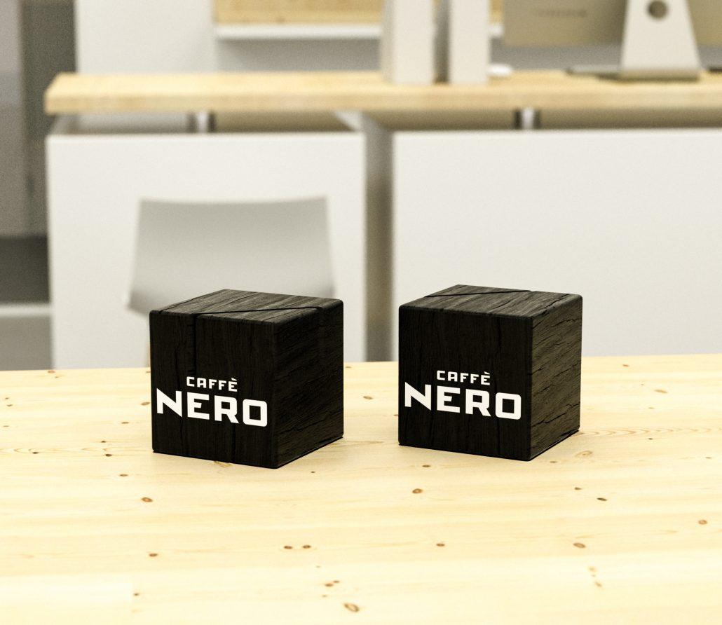 NERO caffe - menu holder