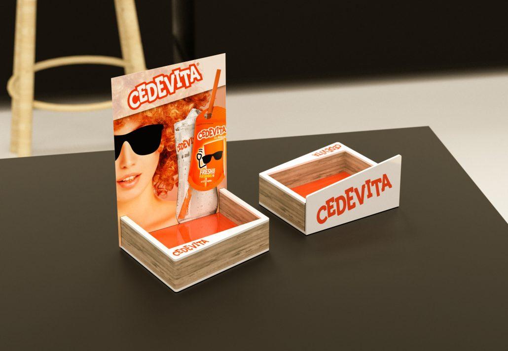 Cedevita - menu holder