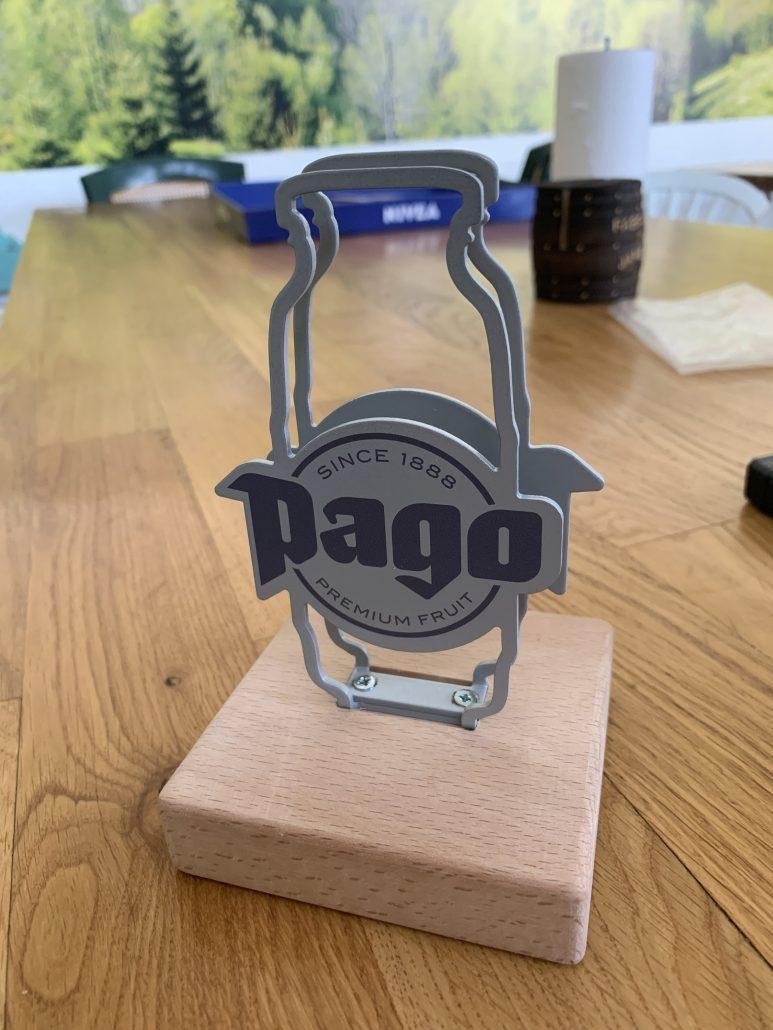 Pago - menu holder