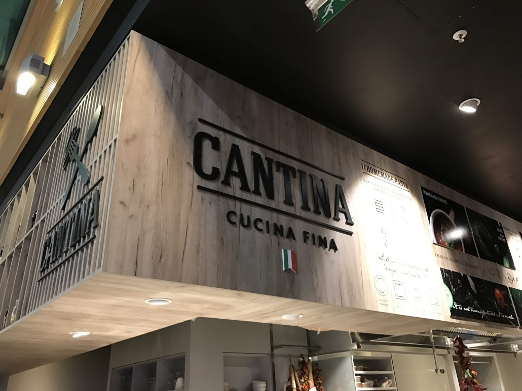 Cantina restaurant - In store elements