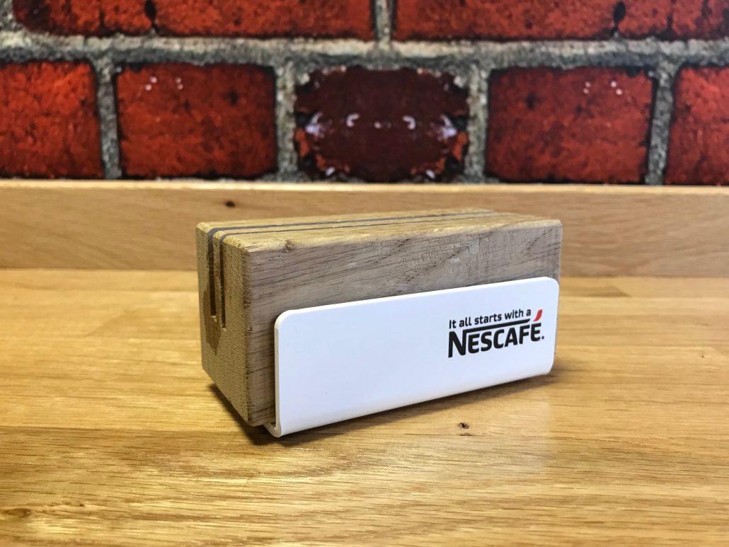 Nescafe - menu holder
