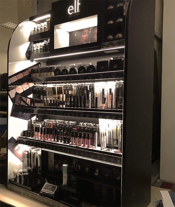 Elf cosmetics - store element