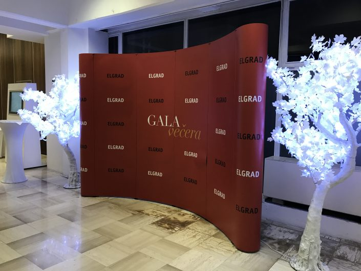 ELGRAD - promo wall