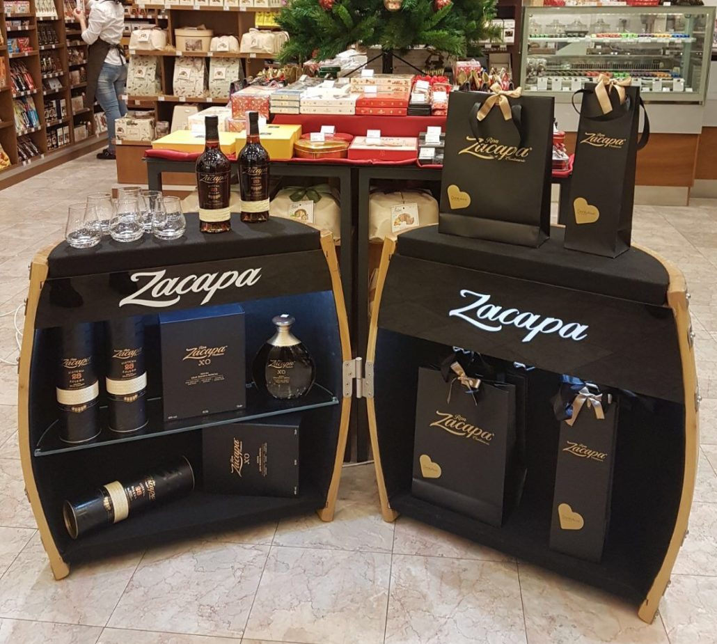 Zacapa - POS in store element