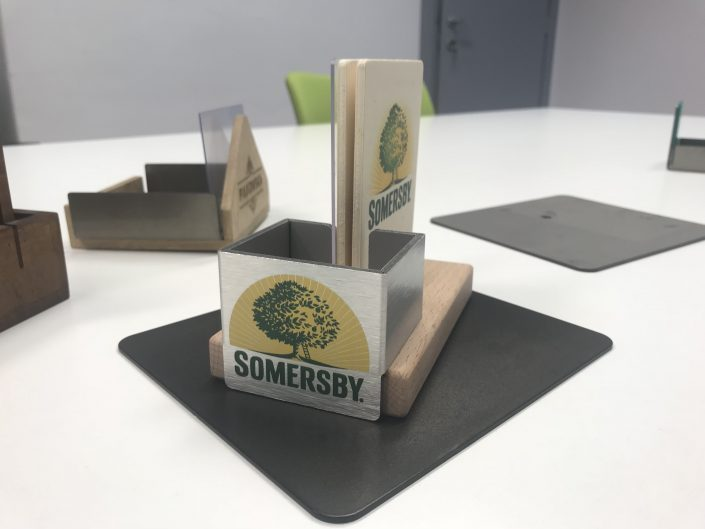 Somersby - menu holder