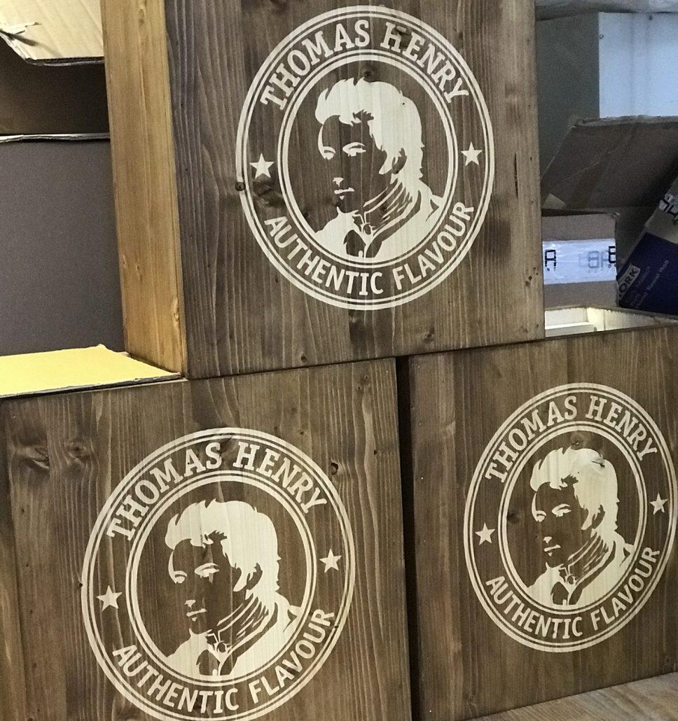 Thomas Henry promo box