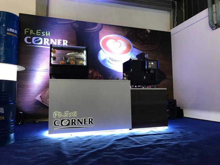 INA fresh corner expo stand