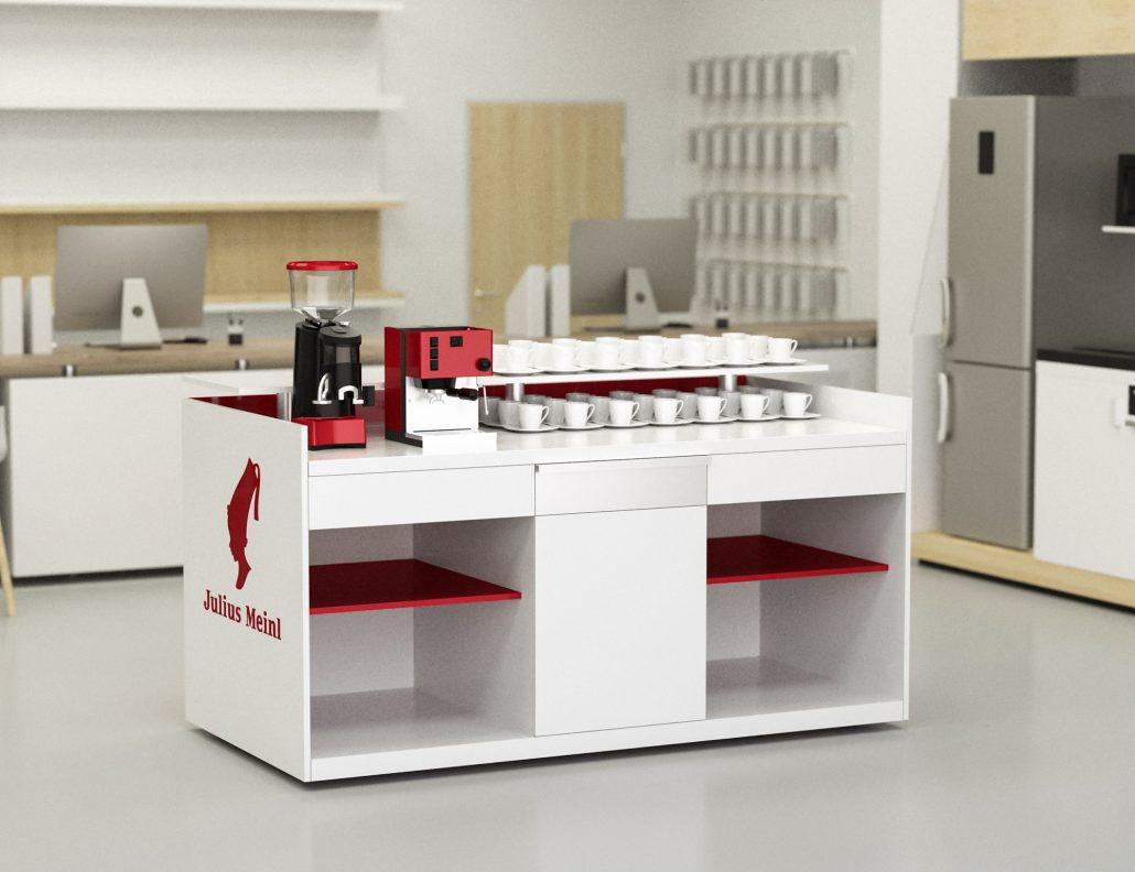 Julius Meinl - advertising furniture