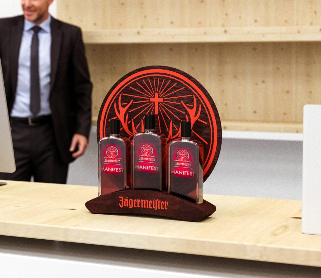 Jagermeister - Manifest bottle presenter