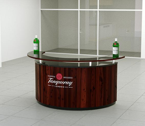 Tanqueray - advertising furniture