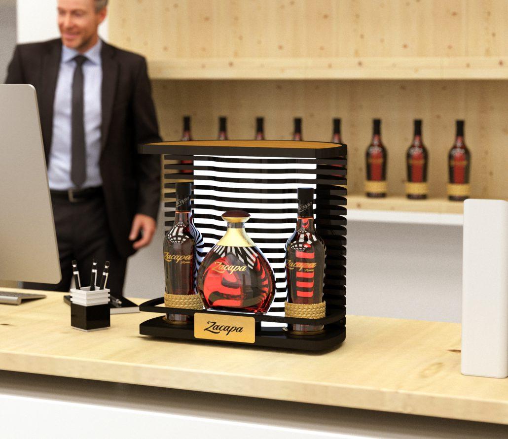 Zacapa - Premium bottle presenter